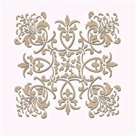 kitchen stencils designs wall stencil small florence tile stencil royal design