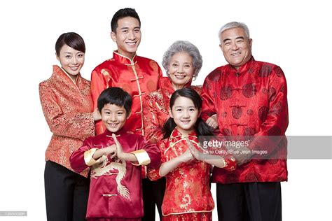 new year traditional dress family dressed in traditional clothing celebrating