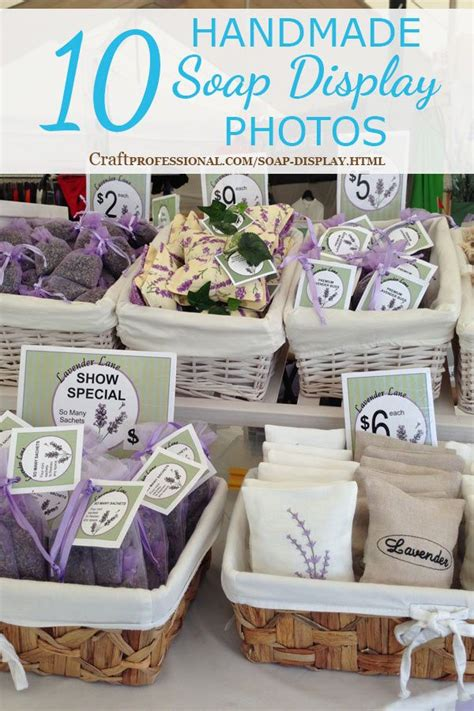Handmade Craft Fairs - 17 best images about craft show soap displays on