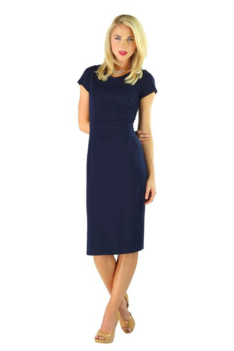 Dress Navy modest dresses in navy blue