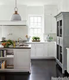house beautiful kitchen design black and white kitchen by designer erin valencich the