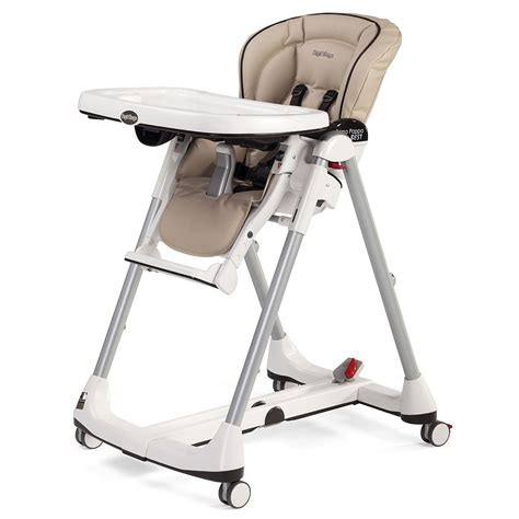 Perego High Chair by Peg Perego Prima Pappa Best High Chair In Cappuccino