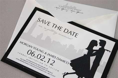 Handmade Save The Date Cards - save the date cards handmade invitations