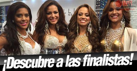 quien ganas nuestra belleza latina 2015 nuestra belleza latina conoce a las finalistas happy fm