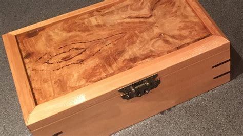 woodwork project keepsake box youtube