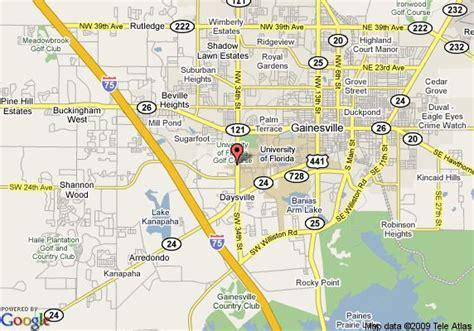 map of gainesville fl map of gainesville florida neighborhoods map of