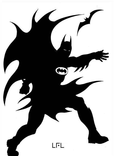 Superman Siluet batman silhouette by leolaino76 on deviantart