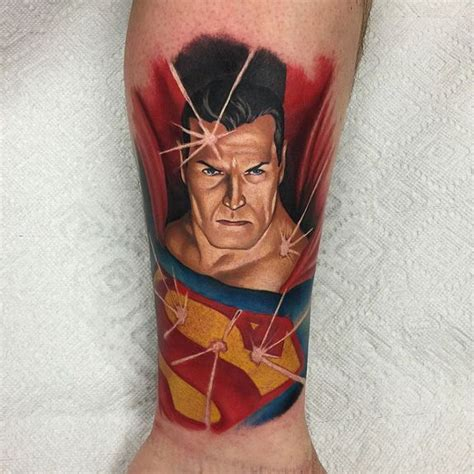 superman tattoo 26 best superman vs batman tattoos images on