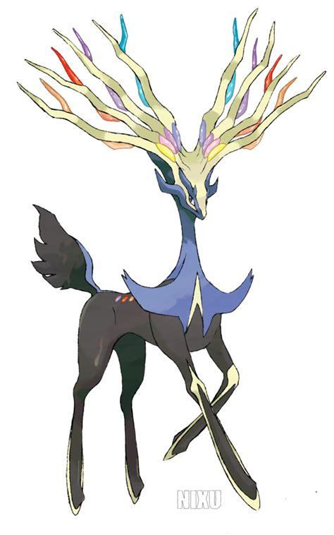 pages xerneas xerneas by nix u on deviantart