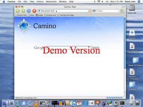 camino web browser camino web browser for ibook g4 review