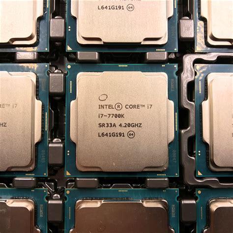 Intel I7 7700k Box 4 2ghz Kabylake intel kaby lake i7 7700k and i5 7600k review