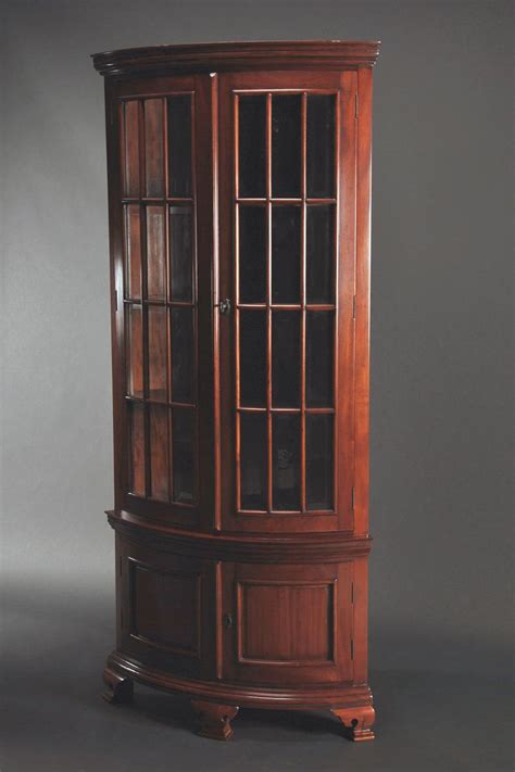 China Cabinet Corner by Dining Room Furniture High End Furniture Formal Dining