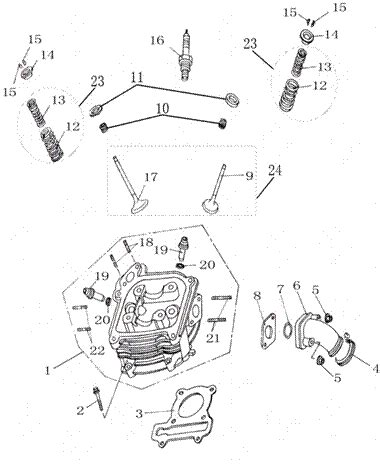 50cc scooter carburetor diagram 50cc gy6 diagram 16 wiring diagram images wiring