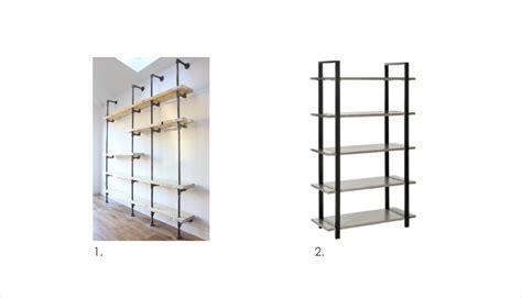industrial style bookshelves 10 fabulous bookshelves by style