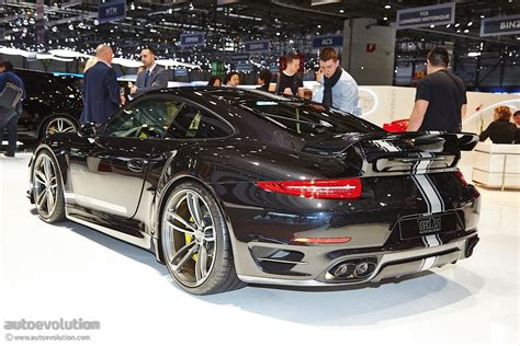 modified porsche 911 techart presents modified porsche 911 turbo s in geneva