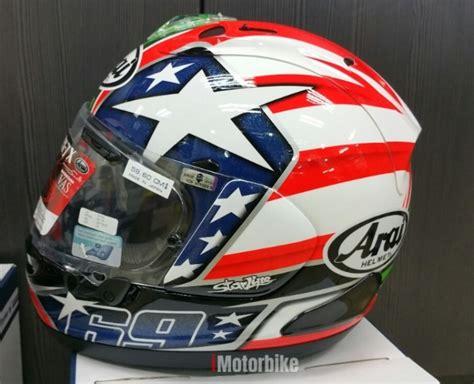 arai rx7x nicky hayden helmets motorcycles imotorbike