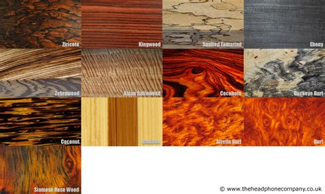 Types Of Wood Rare Types Of Wood