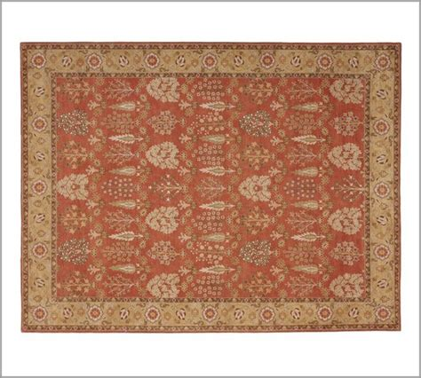 pottery barn tree of rug tree of chenille tapestry rug traditional rugs by pottery barn