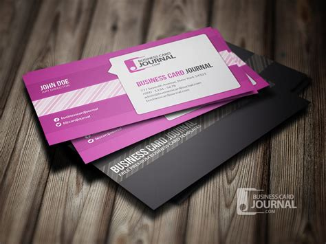 stylish business cards templates 10 stylish free business and gift card templates girly