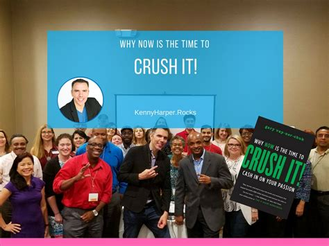 crush it why now 0062295020 why now is the time to crush it gary vaynerchuk kenny harper
