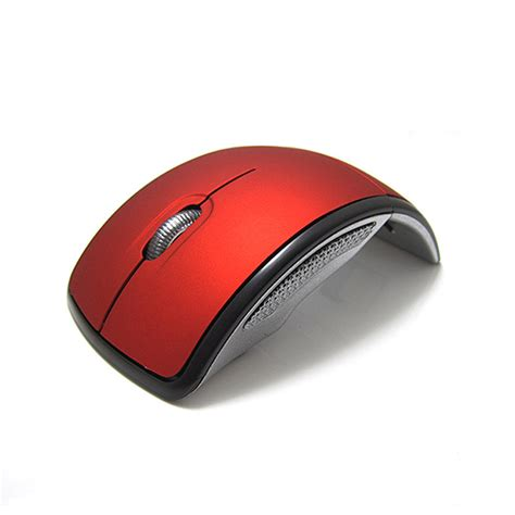 Wireless Mouse Arc Folding Usb 2 4ghz White usb 2 4ghz snap in transceiver optical foldable arc wireless mouse