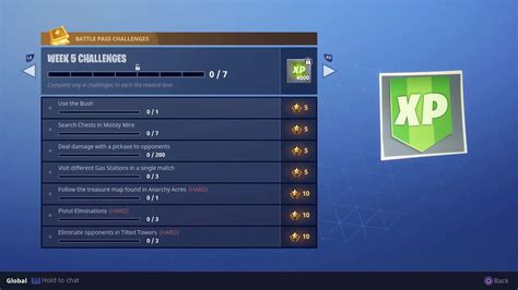 fortnite week 5 challenges fortnite gas station locations and fortnite anarchy acres