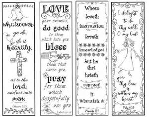 bible verse bookmarks on the christian life b w color your own