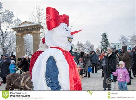 new year competition new year competition of snowmen editorial image image
