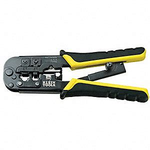 Best Product 2 In 1 Modular Crimping Bestguard C6861 klein tools ratchet crimper 28 to 22 awg 7 1 2 quot l 6lft9