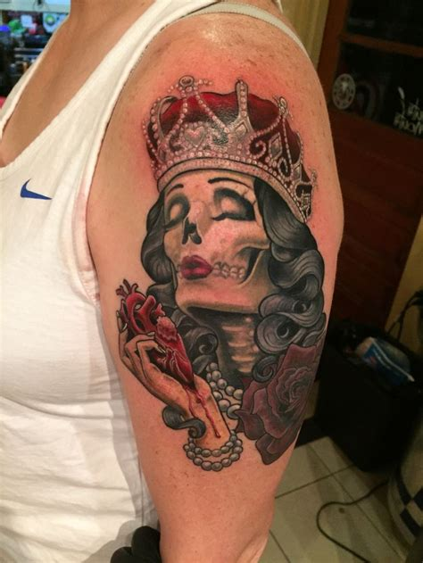 queen of hearts tattoo 25 best ideas about of hearts on