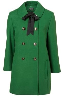 Field Gabs With Fab by Topshop Green Coat 7 Exceptionally Chic And Colourful