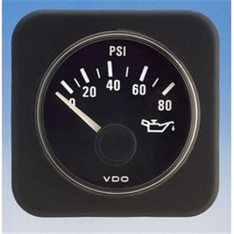 vdo vanguard series pressure gauge  psius sender  ohms vdo  sailboat supplies