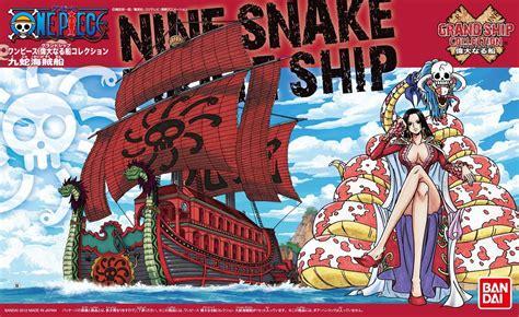 Model Kit Kapal One Nine Snake Figure Boa Hancock Figure Luffy 1 gundam mad miscellaneous models nine snake ship