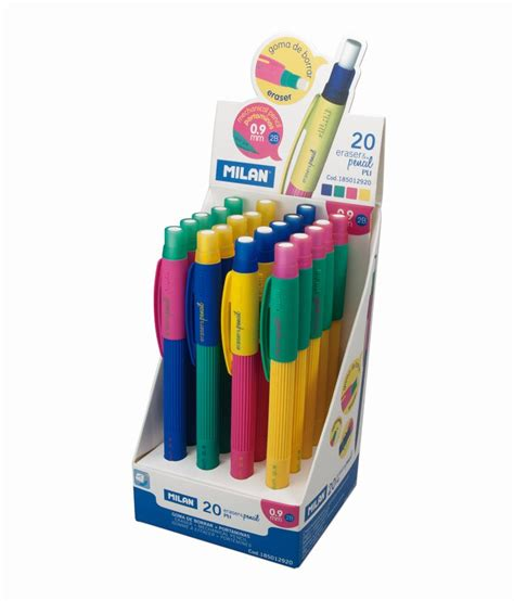 Milan Pl1 Mechanical Pencileraser Murah milan pl1 touch eraser pencil 0 9 mm buy at