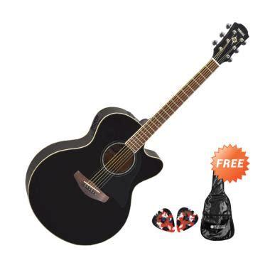 Harga Gitar Akustik Yamaha Hitam jual yamaha cpx 600 gitar akustik elektrik hitam