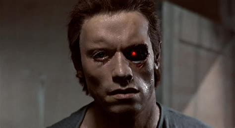 arnold there is no bathroom arnold schwarzenegger in the makeup chair to become the t
