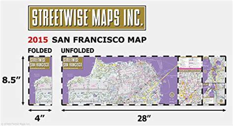 san francisco map buy streetwise san francisco map laminated city center