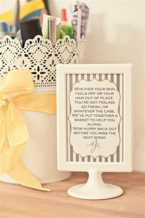 25 best ideas about wedding toiletry basket on wedding bathroom wedding bathroom