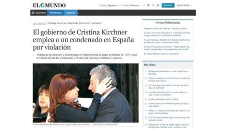 el eco de las se 241 oras de santiago noticias sobre derechos humanos en argentina prensa espa 241 ola se hace eco denuncia sobre el