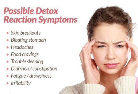 Common Detox Symptoms by Getting Through Detox Symptoms Yeast Die Naturally