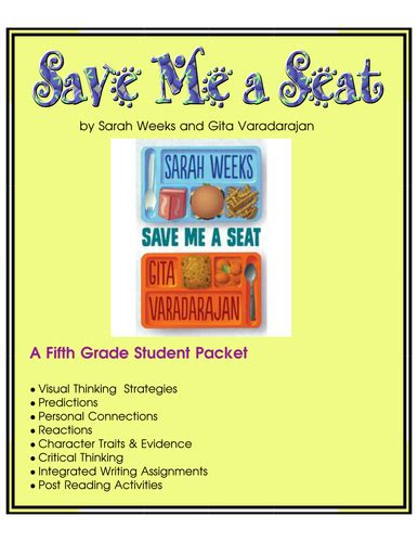 save me a seat reading level marcyprager s shop teaching resources tes