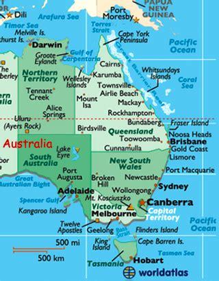 map of eastern australia australia photos assorted photos australia world atlas