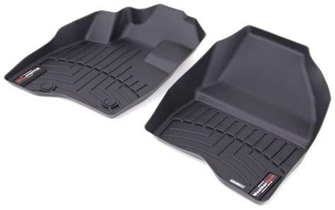2017 ford explorer weathertech front auto floor mats black
