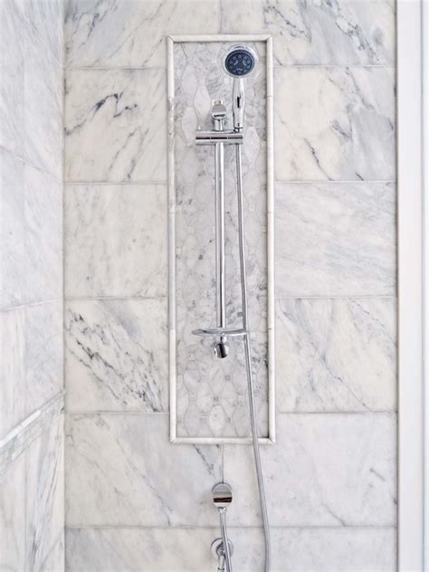Small Bathroom Design Ideas 2012 Marble Inset Tiles Traditional Bathroom