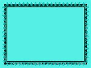 Frame Design Colour Aqua Free Wallpaper