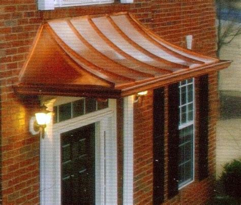 copper awning over door 50 best copper awnings images on pinterest copper awning