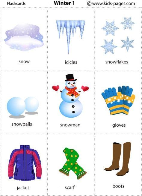 printable flash card maker for mac free printable winter flashcards flashcards pinterest
