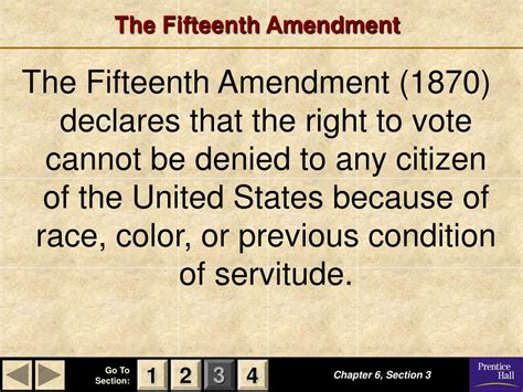 15th Amendment Section 2 by Ppt Magruder S American Government Powerpoint
