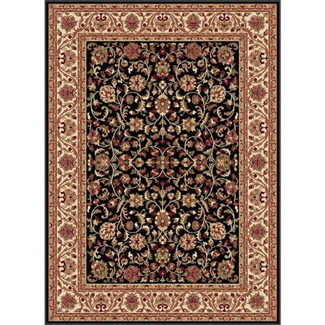 home depot accent rugs mohawk home rainbow multi 6 ft x 9 ft area rug 512712