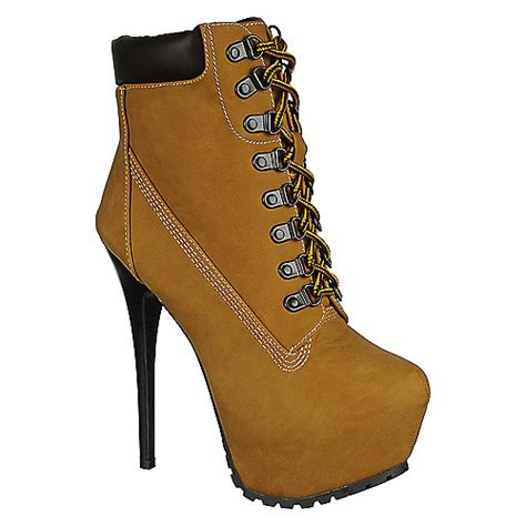 high heel work boots for s high heel ankle boot blazer 11 shiekh shoes